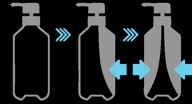 酸化防止ボトル